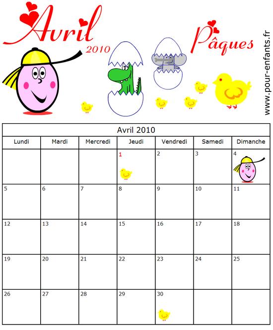 Calendrier 2017 a imprimer mois par mois - Date vacances de paques 2017 ...