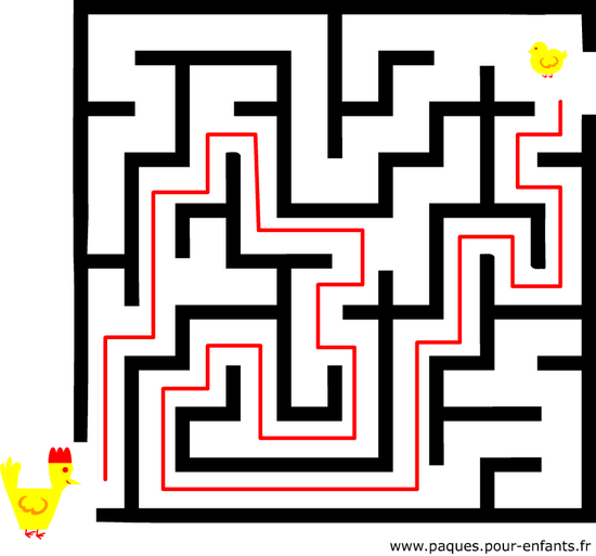 Jeu De Labyrinthe Solution Labyrinte Difficile